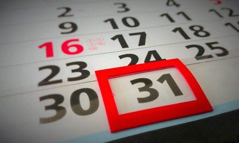 Terminy spotkań w styczniu